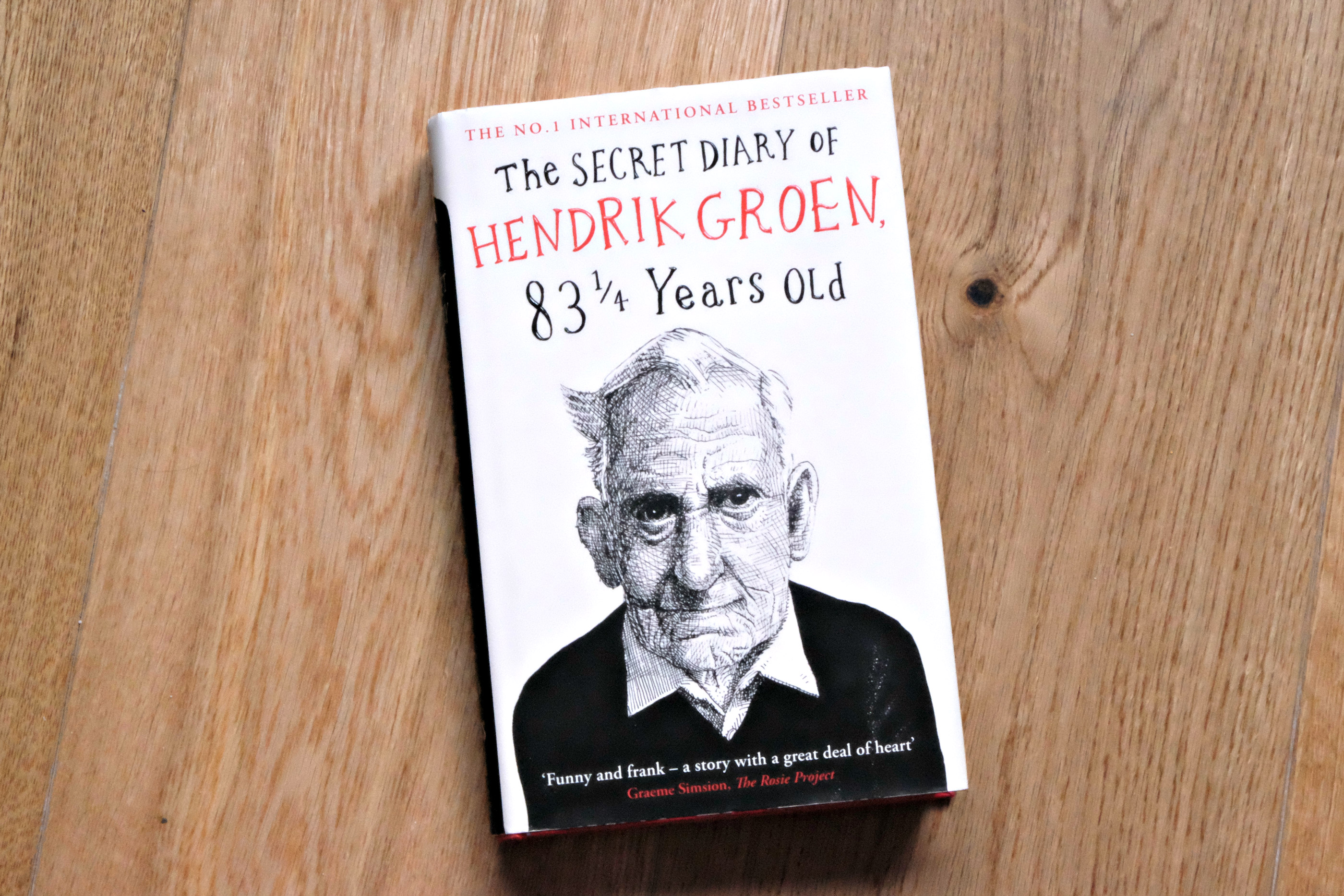 Picture of The Secret Diary of Hendrick Groen 84 and a quater years old