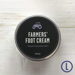 Farmers Welsh Lavender Foot Cream