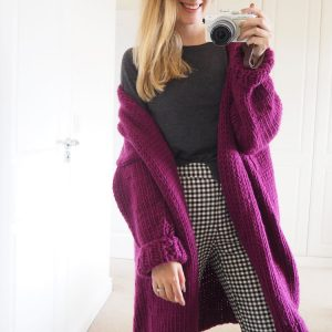 Lauren Ashton Designs Cardigan Knitting Kit